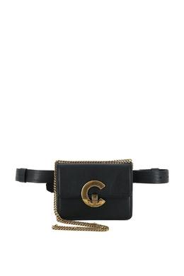 Поясная сумка с логотипом Bold C Roberto Cavalli 314143287