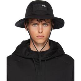 Y-3 Black AdiZero Bucket Hat 192138M14000101GB