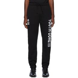 Misbhv Black Youth Core Lounge Pants 192937M19000402GB