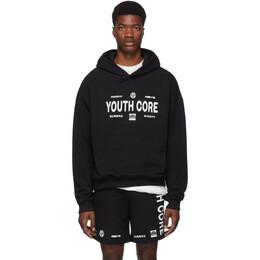 Misbhv Black Youth Core Hoodie 192937M20200902GB