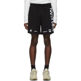 Misbhv Black Youth Core Shorts 192937M19300101GB