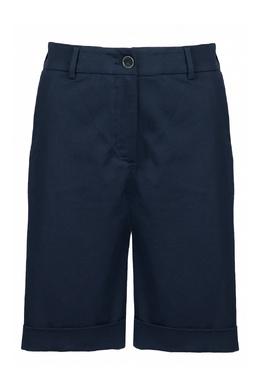 Синие шорты с подворотами Eleventy 2014143609