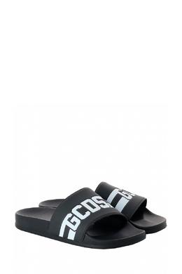 Черные пантолеты с рельефной монограммой Gcds 2981143660