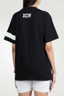 Черная футболка с монограммой Gcds 2981143763
