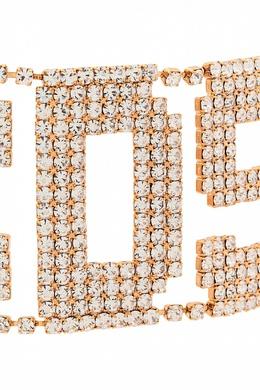 Чокер из кристаллов в виде логотипа Gcds 2981143805