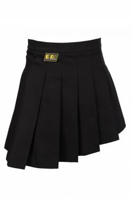 Черная асимметричная юбка со складками Gcds 2981143706