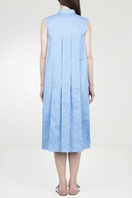 Платье с завязкой и складками на спине Eleventy 2014143569
