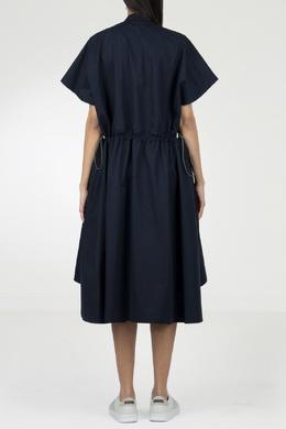 Платье с защипами и асимметричным низом Eleventy 2014143567