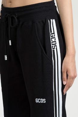 Черные брюки с лампасами Gcds 2981143783