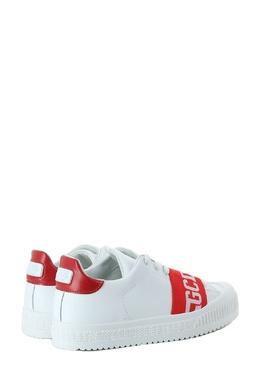Белые кеды с красными деталями Gcds 2981143627