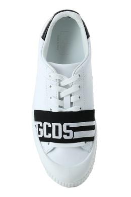 Белые кеды с черными деталями Gcds 2981143629