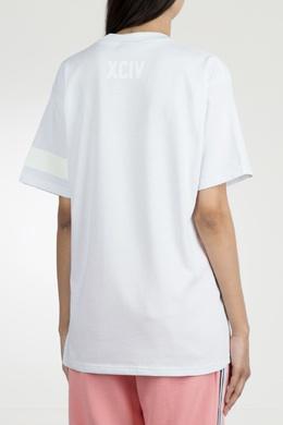 Меланжевая футболка с монограммой Gcds 2981143743