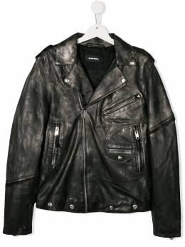 Diesel Kids байкерская куртка 00J4FGKXB1B