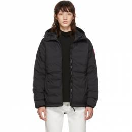 Canada Goose Black Camp Hoody Jacket 192014F06102701GB