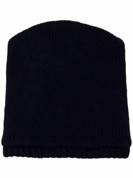 Yohji Yamamoto - двусторонняя шапка бини 66965959869690000000