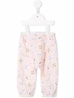 Kenzo Kids - брюки с принтом 06633093566566000000