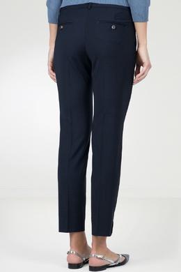 Синие узкие брюки Peserico 1501143615