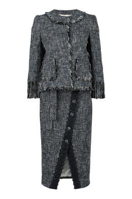 Твидовый костюм-двойка Blumarine 533144234