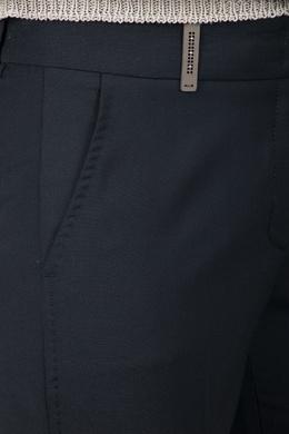 Черные узкие брюки Peserico 1501143619