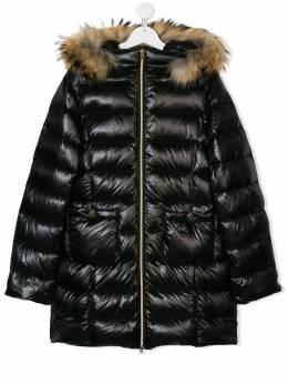 Herno Kids - TEEN fur trimmed padded coat 658G9069393955539000