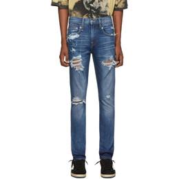 R13 Blue Boy Jeans 192021M18600104GB