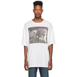 R13 White Joy Division Warsaw T-Shirt 192021M21300302GB