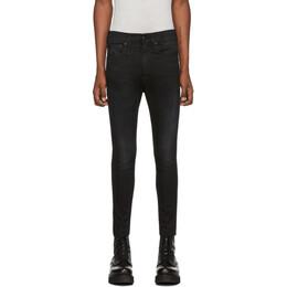 R13 Black Drop Jeans 192021M18601303GB