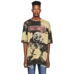 R13 Black Exploited Punk Oversized T-Shirt 192021M21300603GB