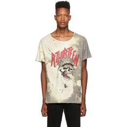 R13 Grey Battle Punk Boy T-Shirt 192021M21300502GB
