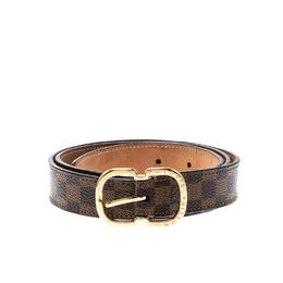 Louis Vuitton Damier Ebene Mini 25 MM Belt 80CM 213076