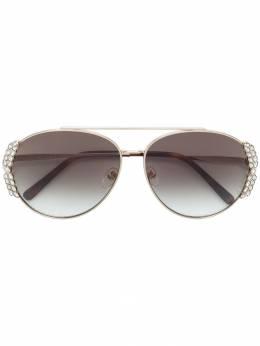 MCM солнцезащитные очки с отделкой кристаллами MCM125S