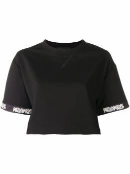 Mr & Mrs Italy - укороченная футболка с короткими рукавами 55E93506638000000000