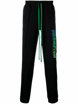Styland - спортивные брюки с принтом 089D36XBLACK99935855