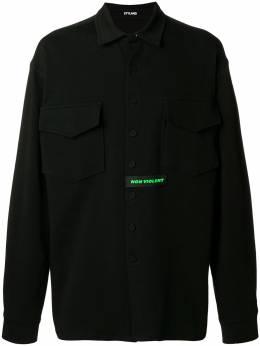 Styland - рубашка с нагрудным карманом 389D36XBLACK99935853