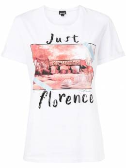 Just Cavalli - футболка 'Just Florence' GC6353N0666393539653