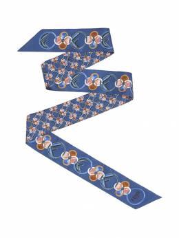 Fendi платок с геометрическим принтом FXT011A6DP