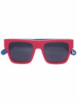Stella McCartney Kids солнцезащитные очки с квадратной оправой SK0028S
