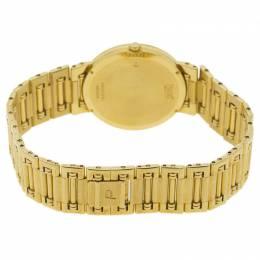 Piaget Champagne 18K Yellow Gold & Diamond Dancer GOA03305 Men's Wristwatch 31MM 94113