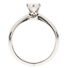Tiffany & Co. H VVS1 Round Brilliant Diamond Solitaire Ring Size 52.5 34375