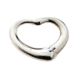 Tiffany & Co. Elsa Peretti Open Heart Silver Pendant 166828