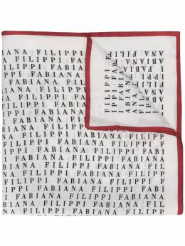 Fabiana Filippi - шарф с принтом логотипа 9399A999935563390000