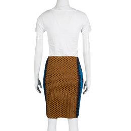 Missoni Multicolor Textured Knit Pencil Skirt M 138075