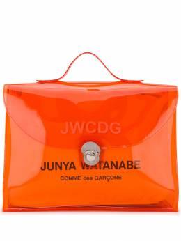 Junya Watanabe - сумка-мессенджер с логотипом 065S9993359385000000