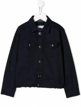 Paolo Pecora Kids джинсовая куртка с карманами PP1764