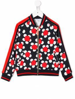 Little Marc Jacobs - куртка на молнии с цветочным принтом 535X3893663658000000