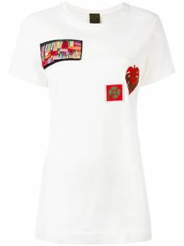 Mr & Mrs Italy - футболка с нашивками 50E99833086000000000