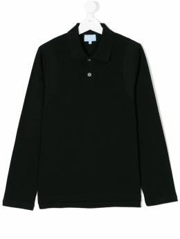 Lanvin Enfant - подростковая рубашка-поло с длинными рукавами 606HF036905580950000