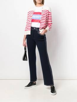 Barrie - расклешенные брюки с декоративной строчкой 65593693695000000000