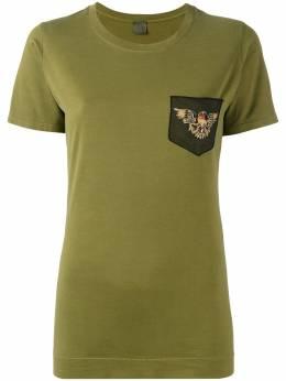 Mr & Mrs Italy - футболка с вышивкой и отделкой бисером 58E99950903000000000