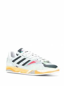 Raf Simons - кроссовки со вставками 95395936395000000000